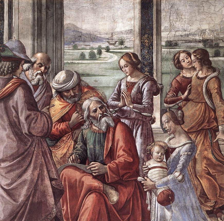 Zacharias Writes Down the Name of his Son