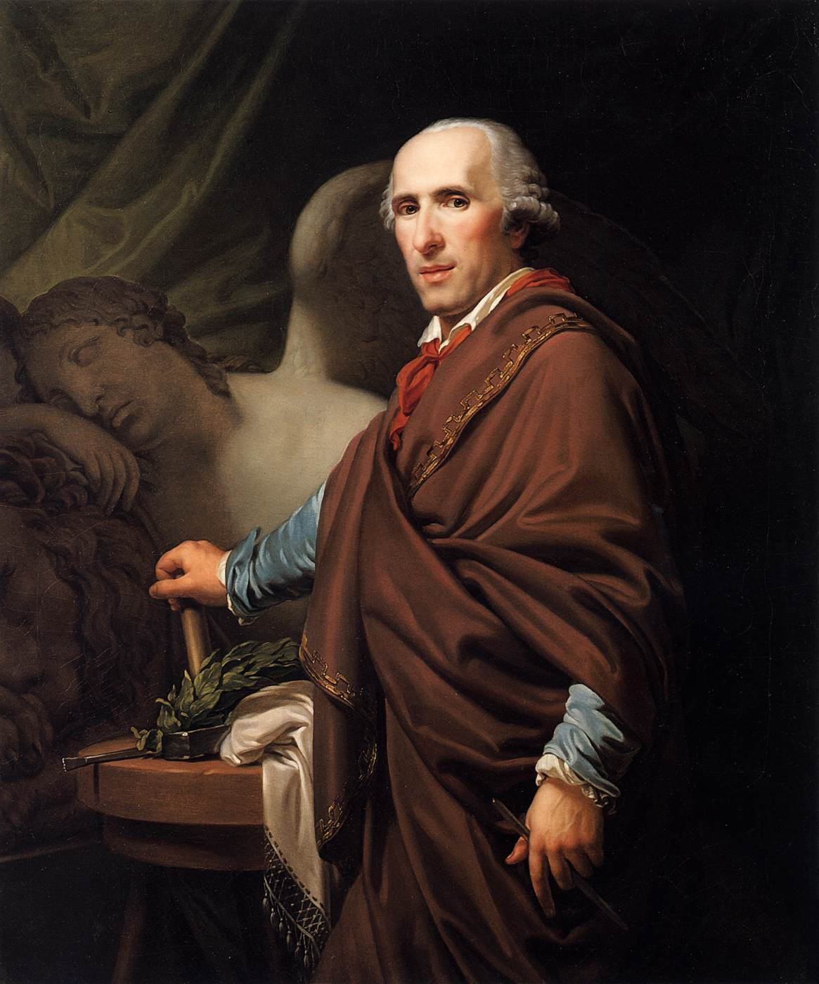 Portrait of Antonio Canova