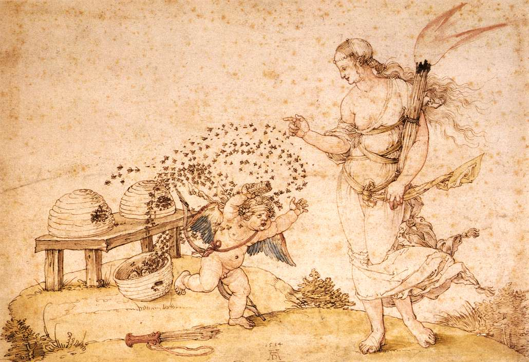 Cupid the Honey Thief