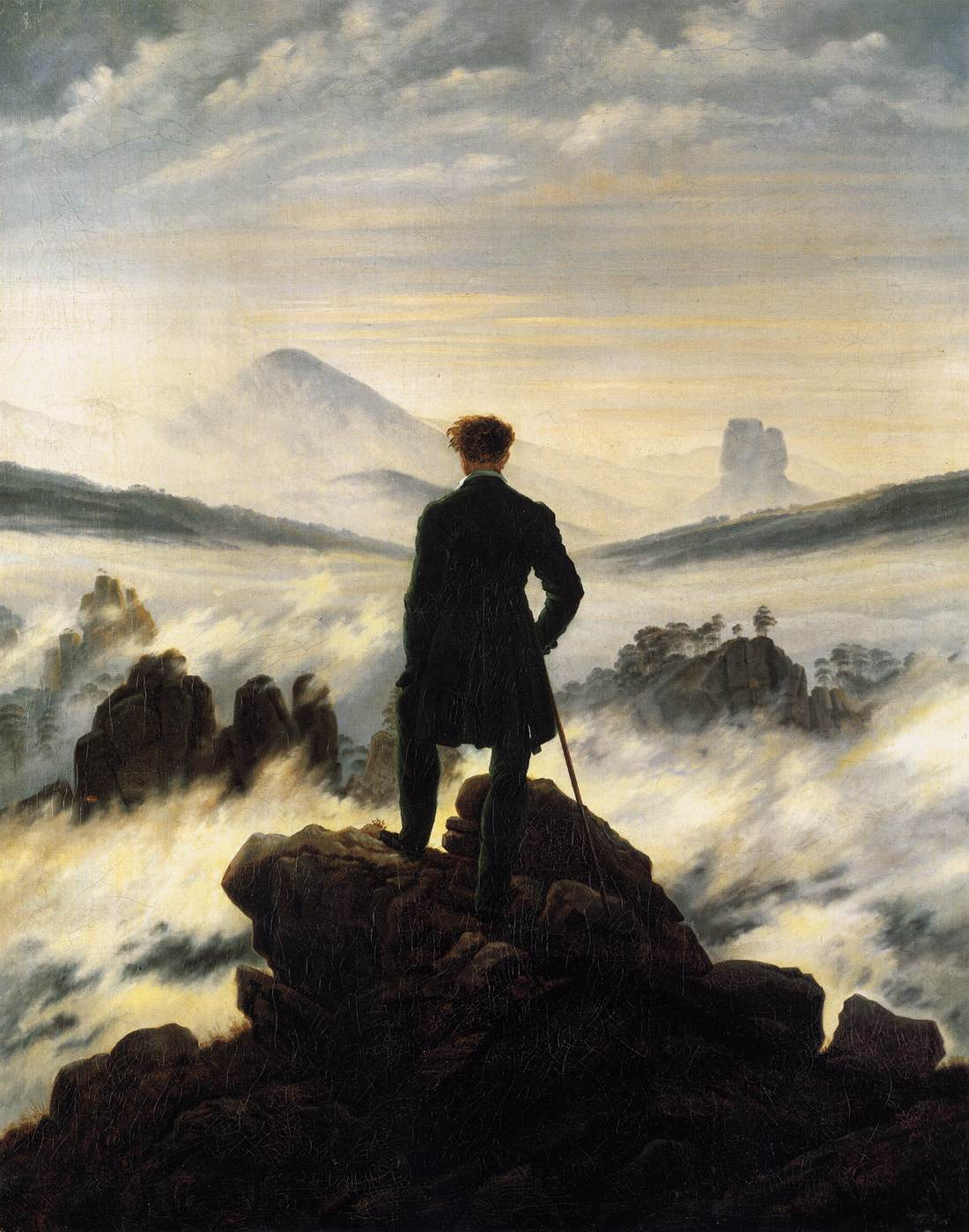 The Wanderer above the Mists