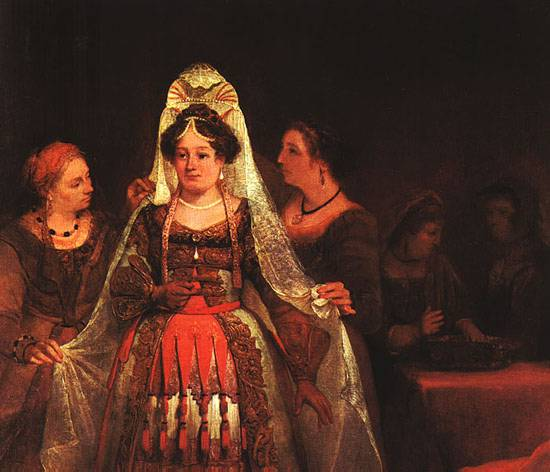 The Jewish Bride (Esther Bedecked)