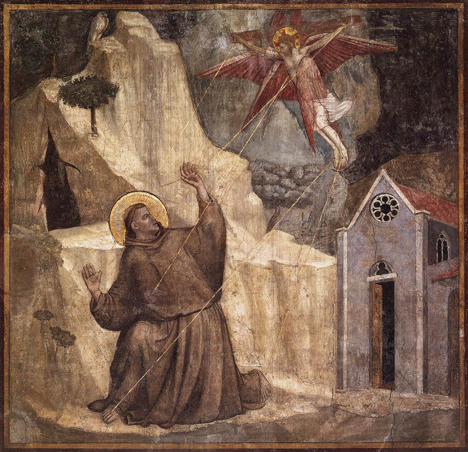 Scenes from the Life of Saint Francis: 1. Stigmatisation of Saint Francis