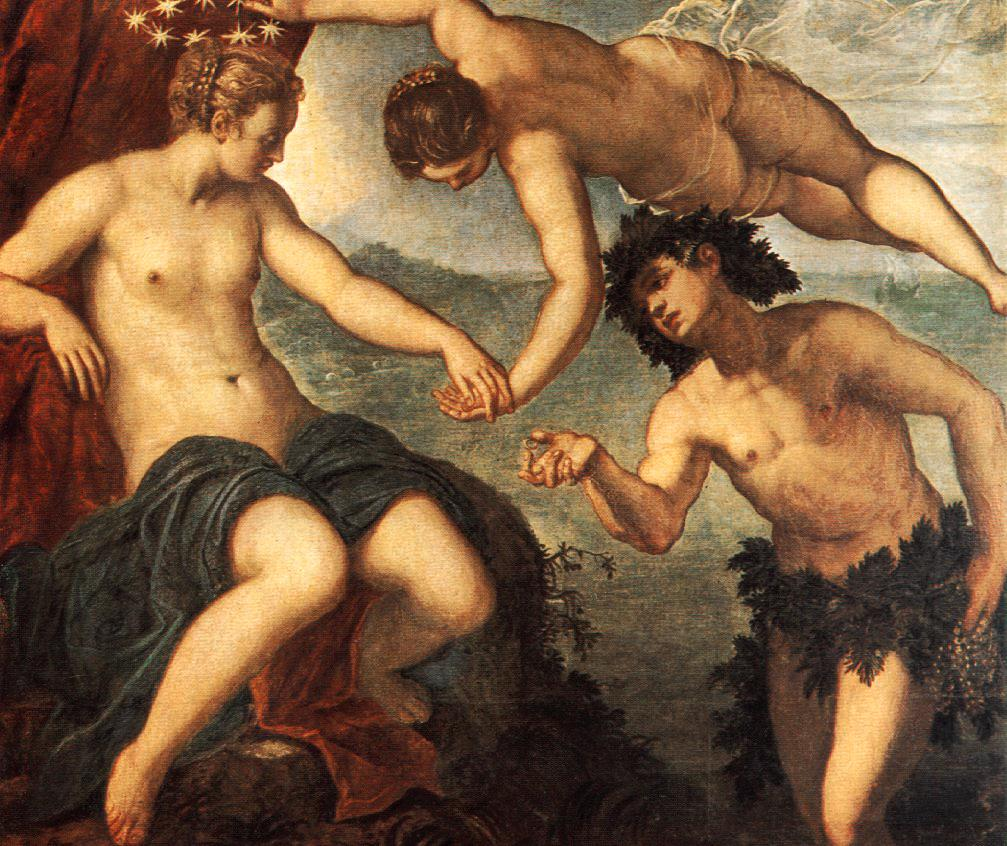 Ariadne, Venus and Bacchus