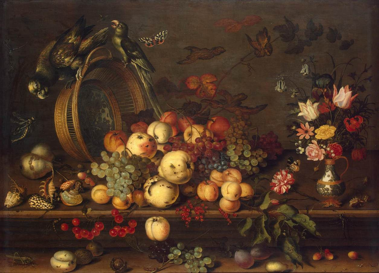 Still-Life with Fruits, Shells and Insects