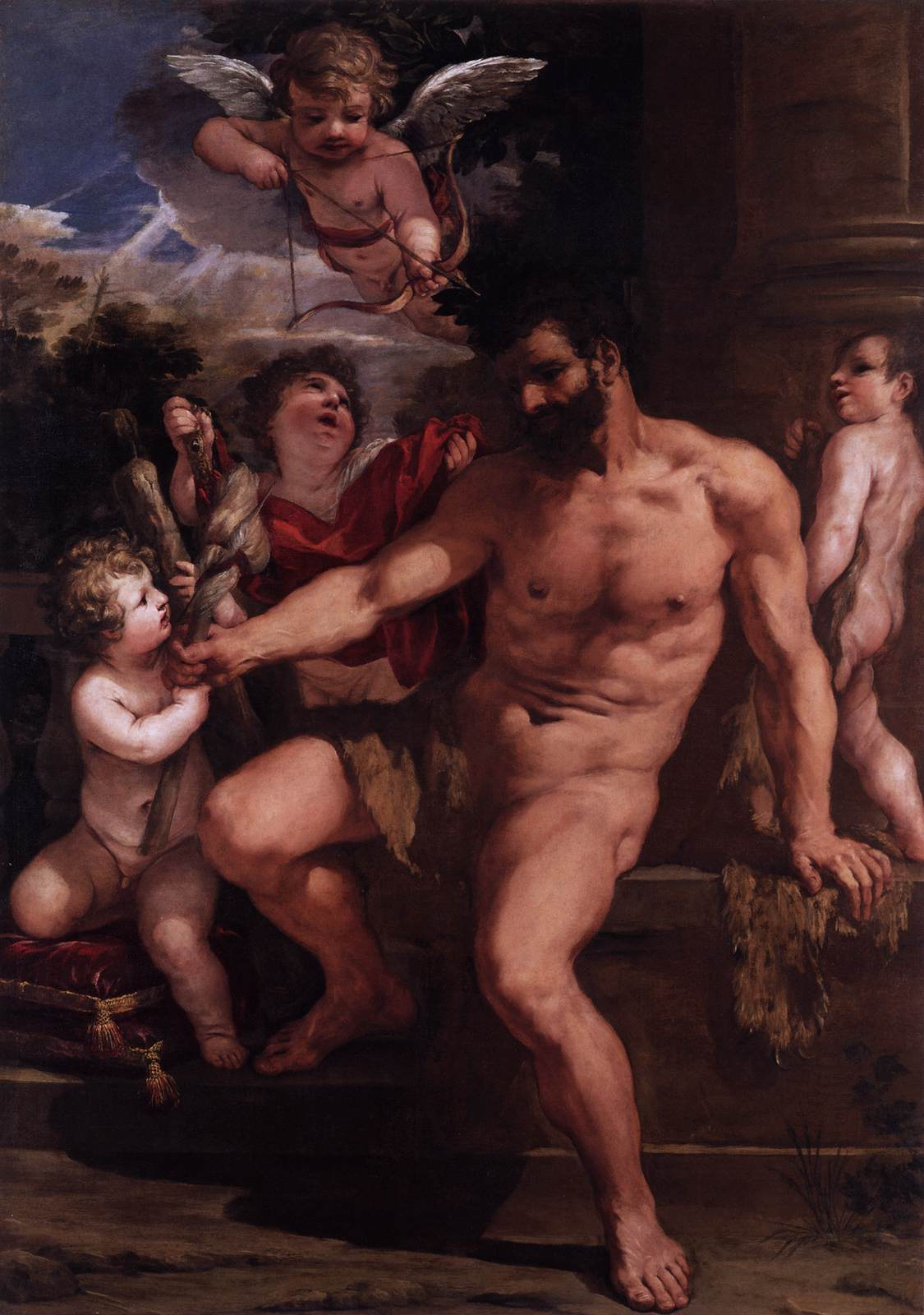 The Punishment of Hercules