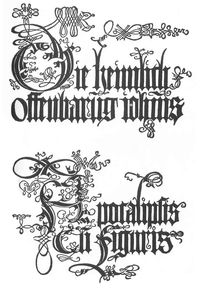 The Revelation of St John: Title page to the edition of 1498