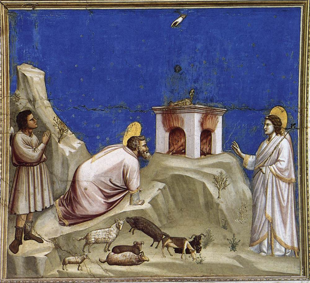 No. 4 Scenes from the Life of Joachim: 4. Joachim's Sacrificial Offering