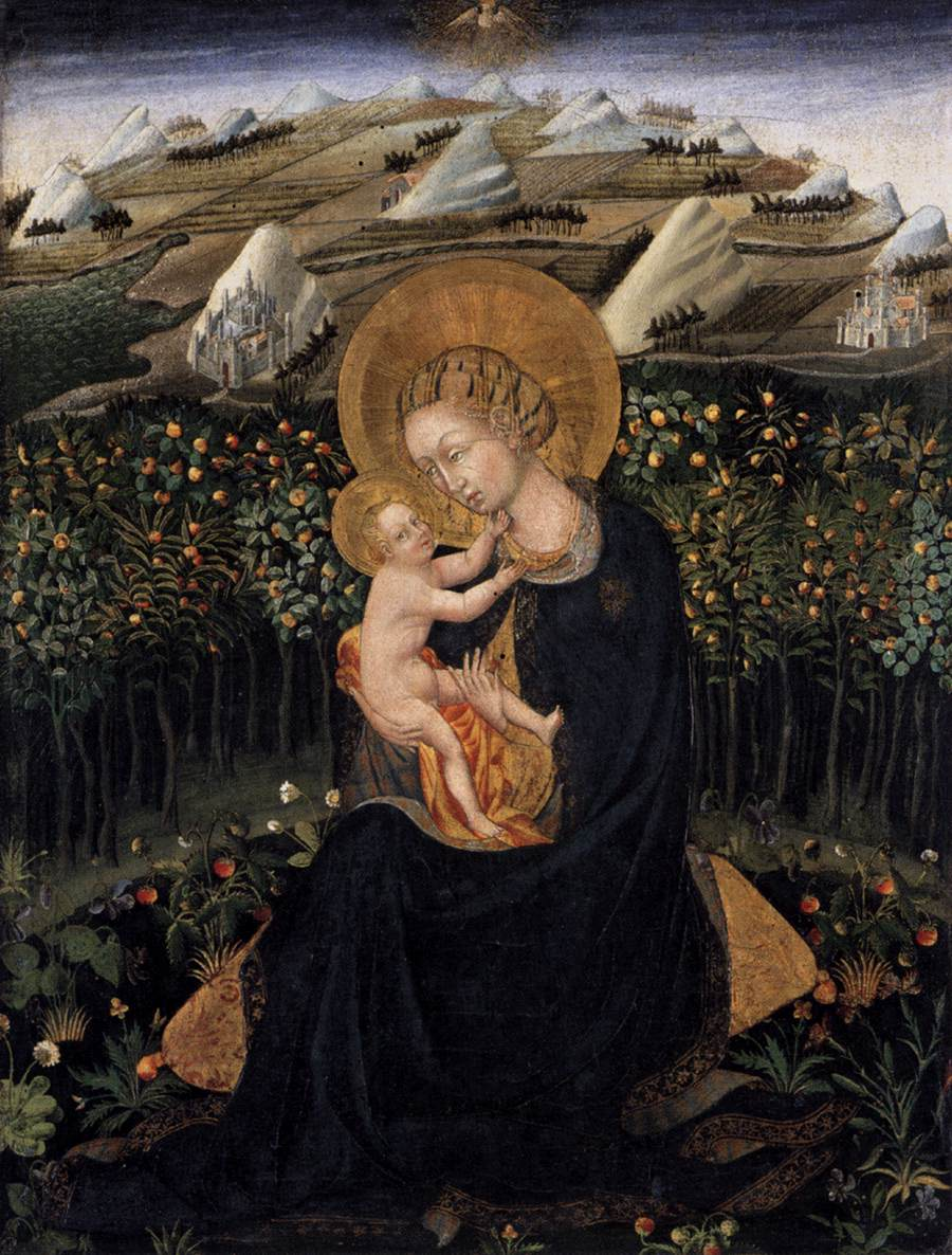 Madonna of Humility (VBirgin and Child)