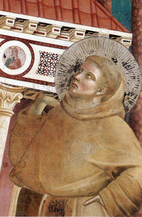 Legend of St Francis: 6. Dream of Innocent III