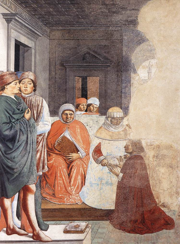 St Augustine at the University of Carthage (scene 2, north wall)