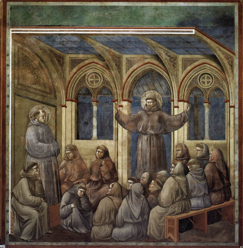 Legend of St Francis: 18. Apparition at Arles