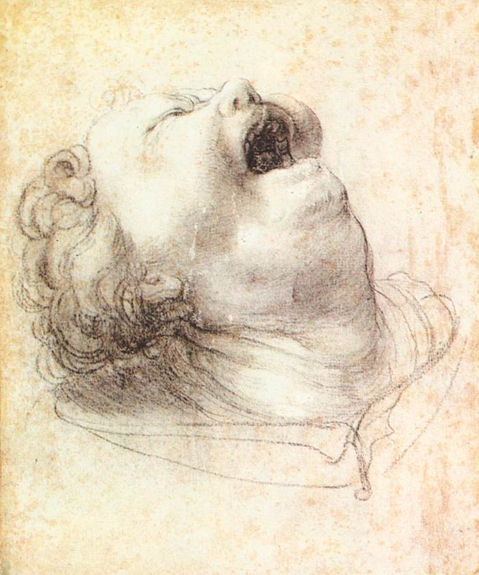 Head of a Shouting Man