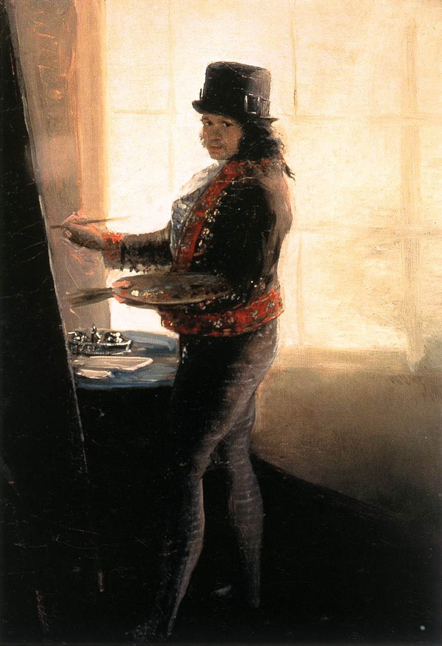 Self-Portrait in the Workshop