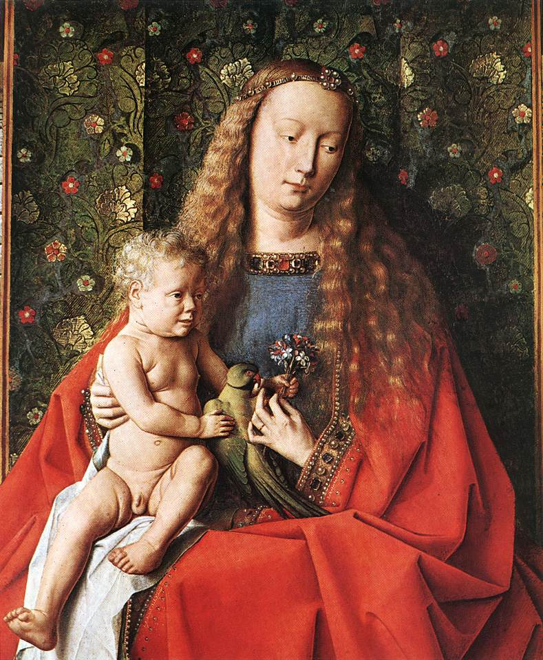 The Madonna with Canon van der Paele