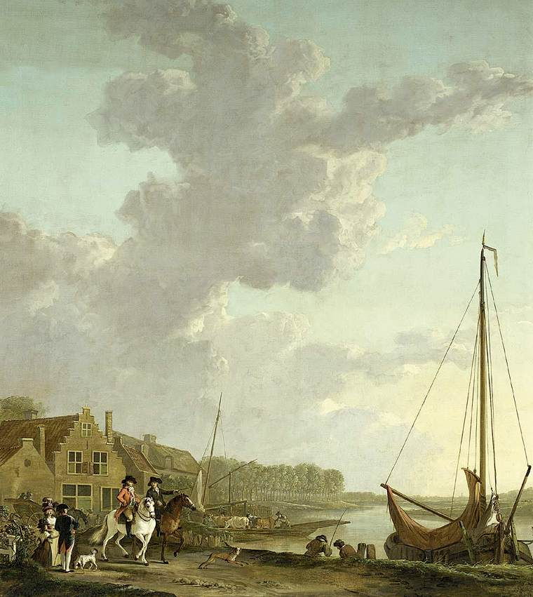 An Extensive River Landscape