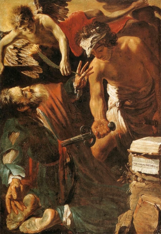 calling-of-matthew-caravaggio Paints Art
