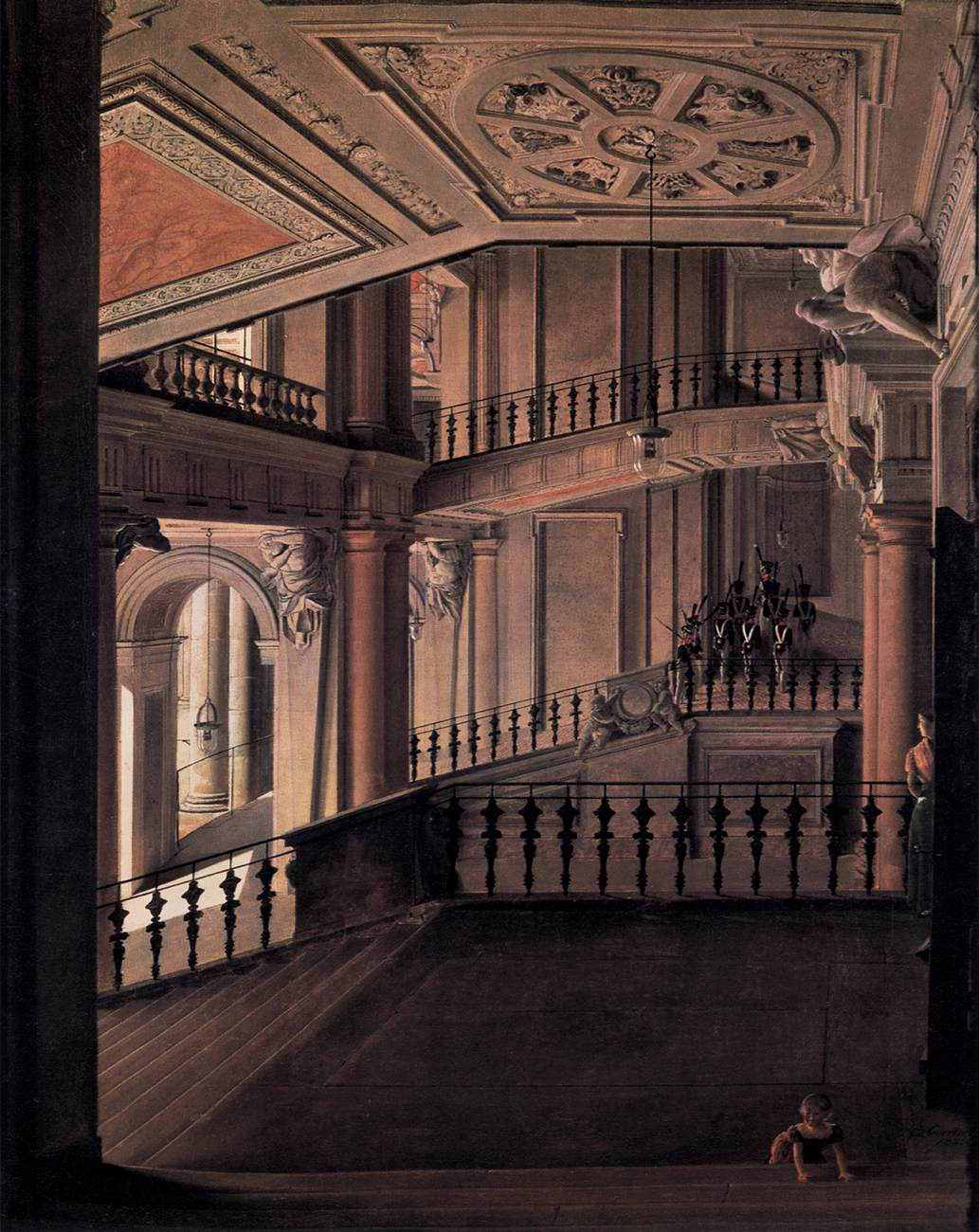Staircase in the Berlin Palace