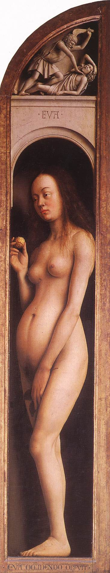 The Ghent Altarpiece: Eve; The Killing of Abel