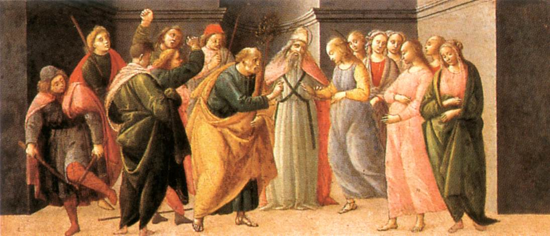 Predella: Marriage of Mary