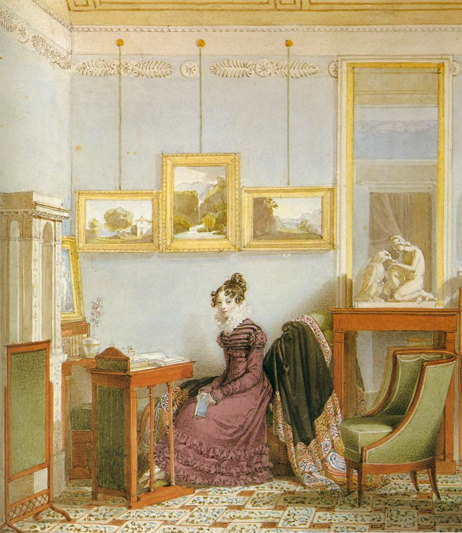 Woman at her Writing Desk