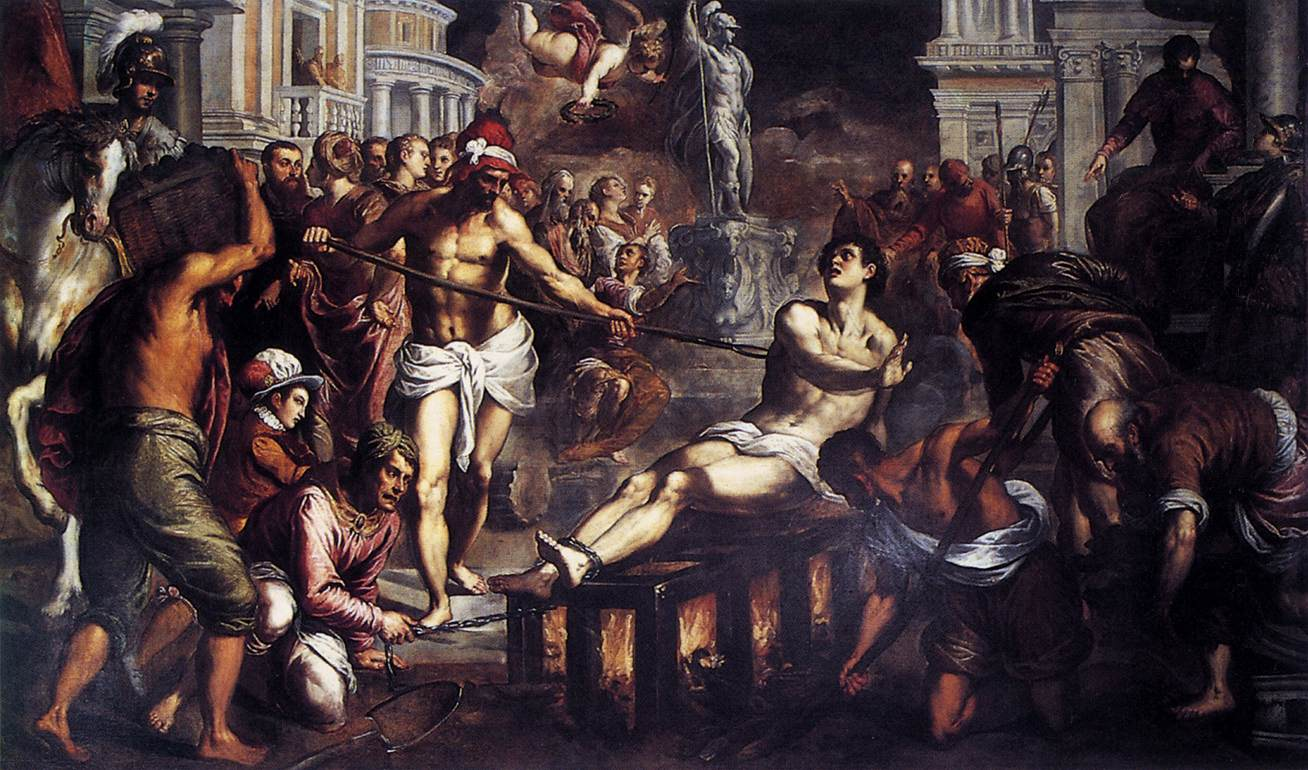 The Martyrdom of St Lawrence