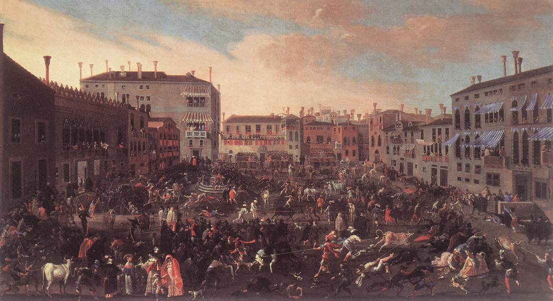The Bull Hunt in Campo San Polo