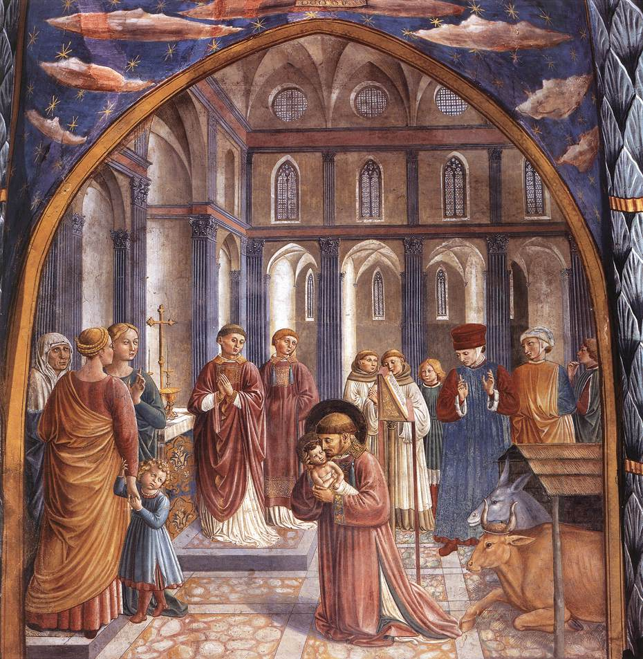 Scenes from the Life of St Francis (Scene 9, north wall)