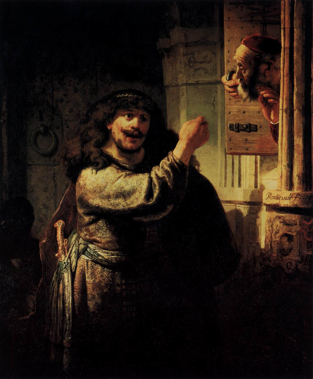 Samson Accusing His Father-in-Law