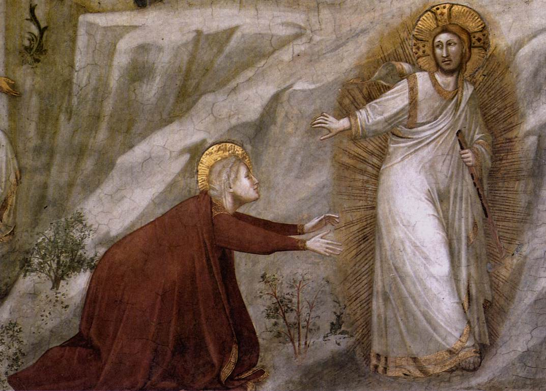 Scenes from the Life of Mary Magdalene: Noli me tangere