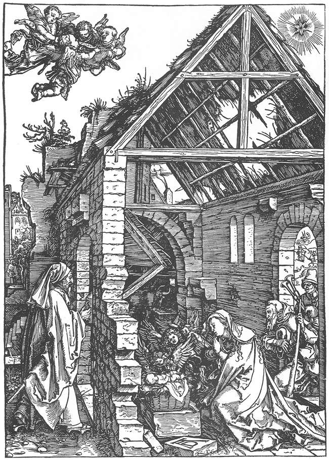 Life of the Virgin: 9. The Adoration of the Shepherds. (The Nativity)