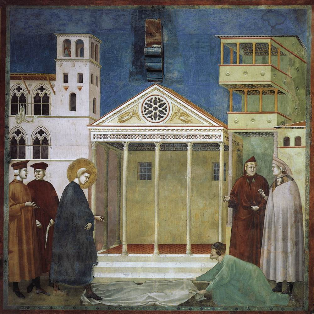Legend of St Francis: 1. Homage of a Simple Man