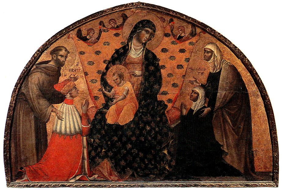 Doge Francesco Dandolo and his Wife Presented to the Madonna