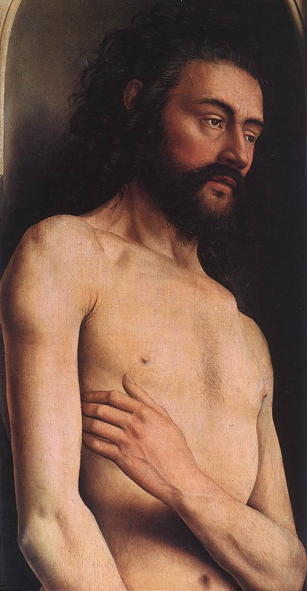The Ghent Altarpiece: Adam
