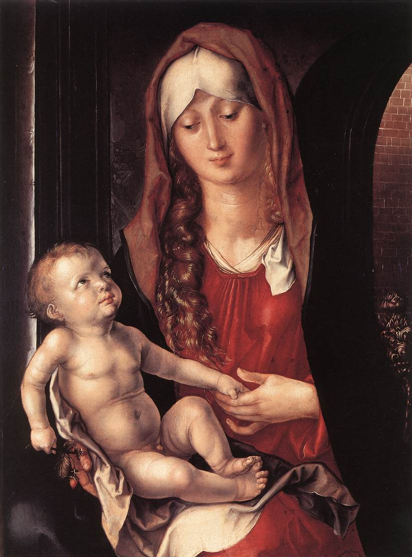 Virgin and Child before an Archway