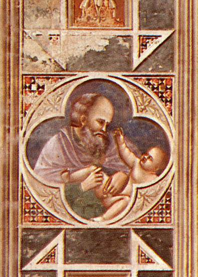 Circumcision (on the decorative band)