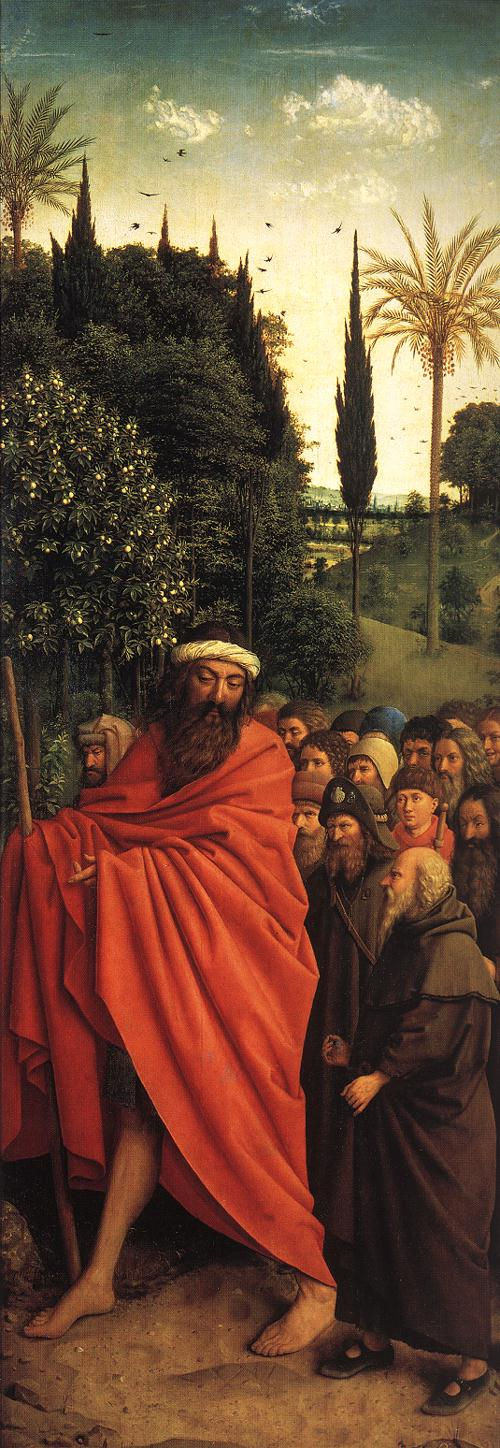 The Ghent Altarpiece: The Holy Pilgrims