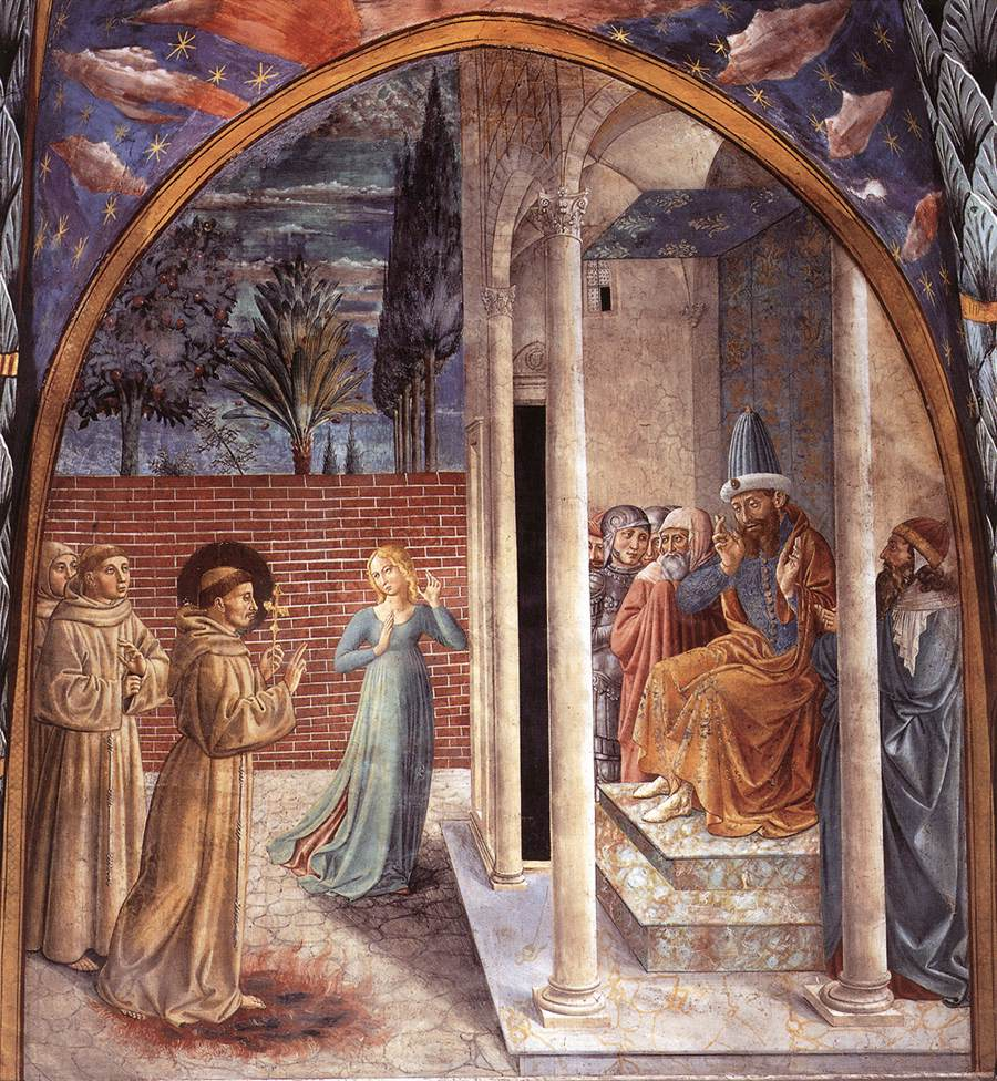 Scenes from the Life of St Francis (Scene 10, north wall)