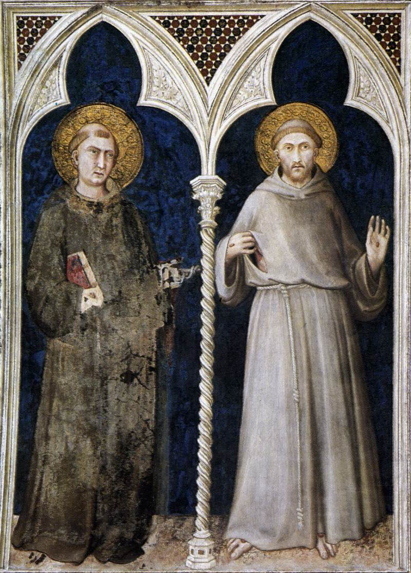 St Anthony of Padua and St Francis