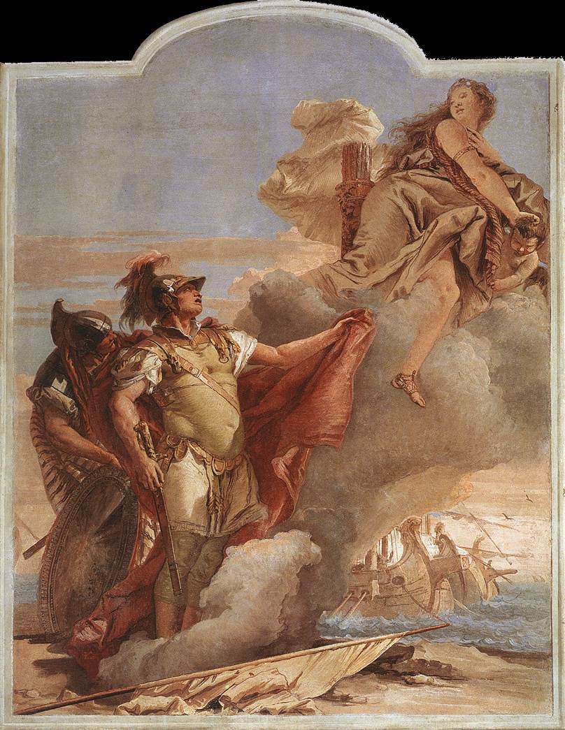 Venus Appearing to Aeneas on the Shores of Carthage