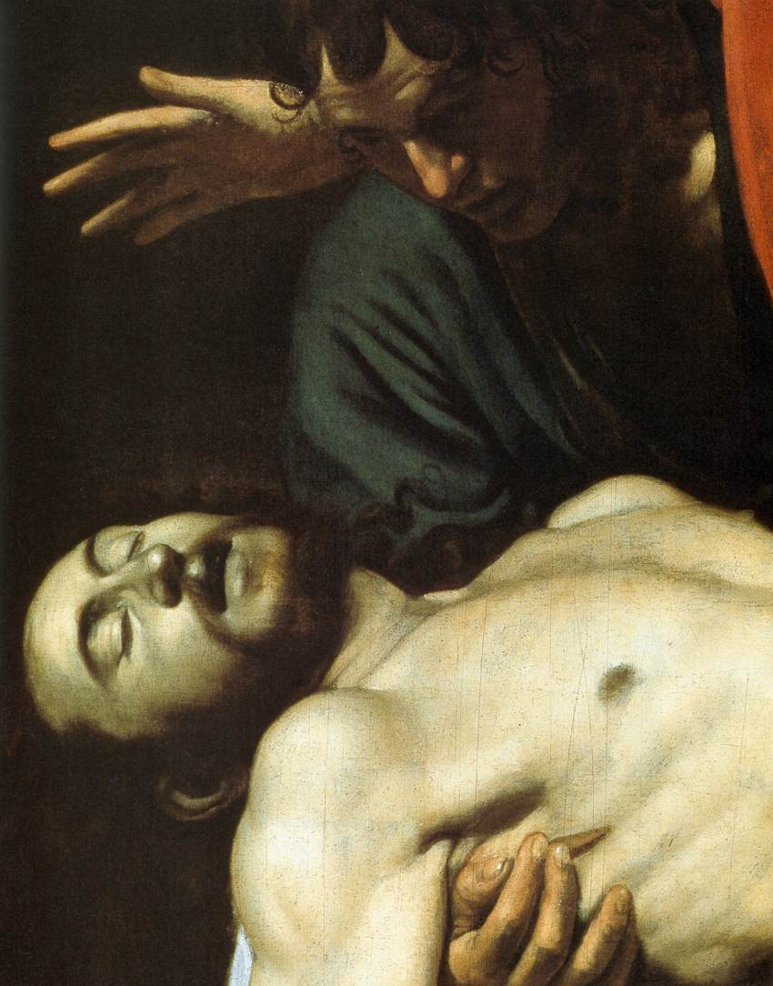 The Entombment (detail)