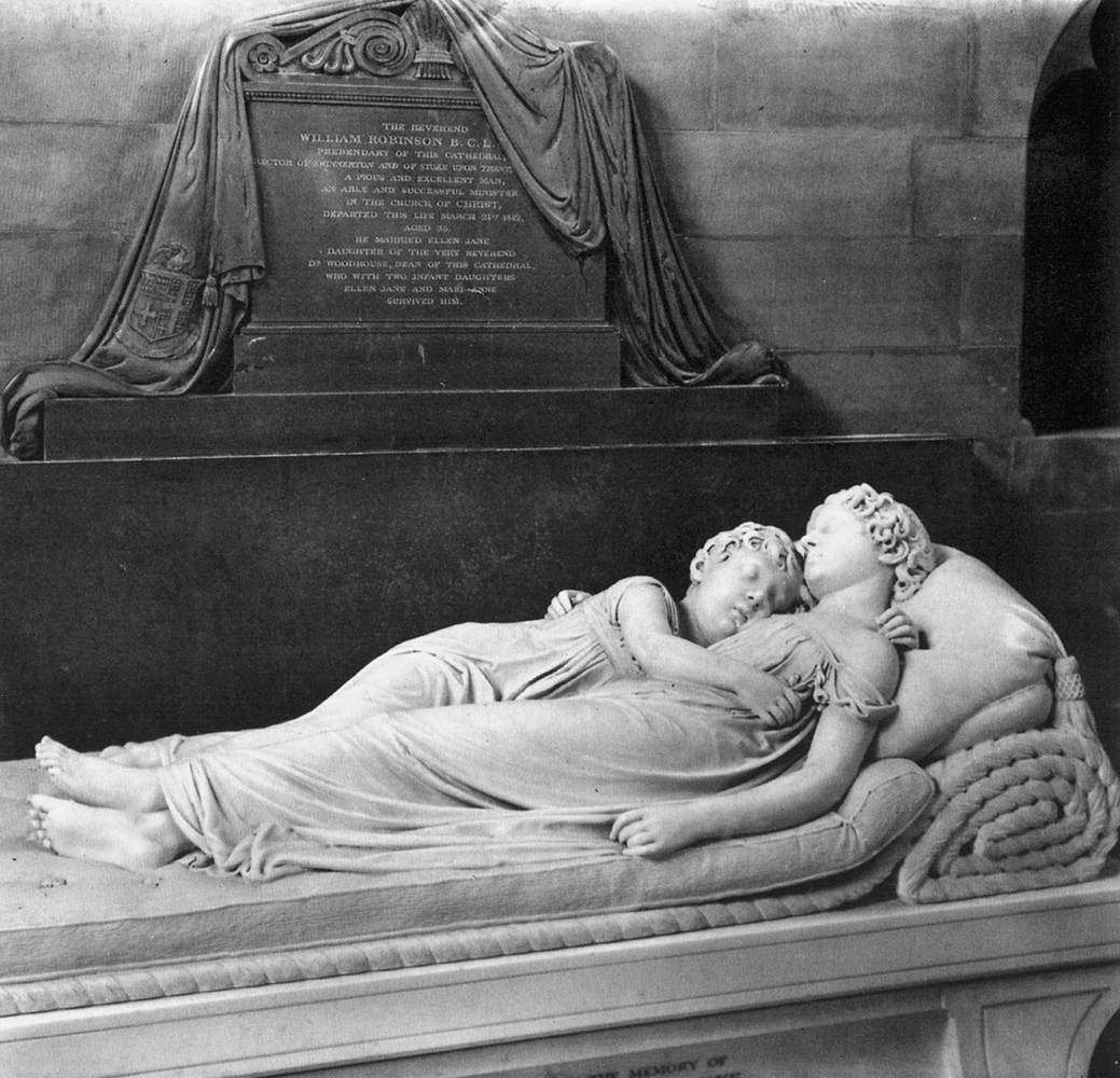 Robinson Monument: The Sleeping Children