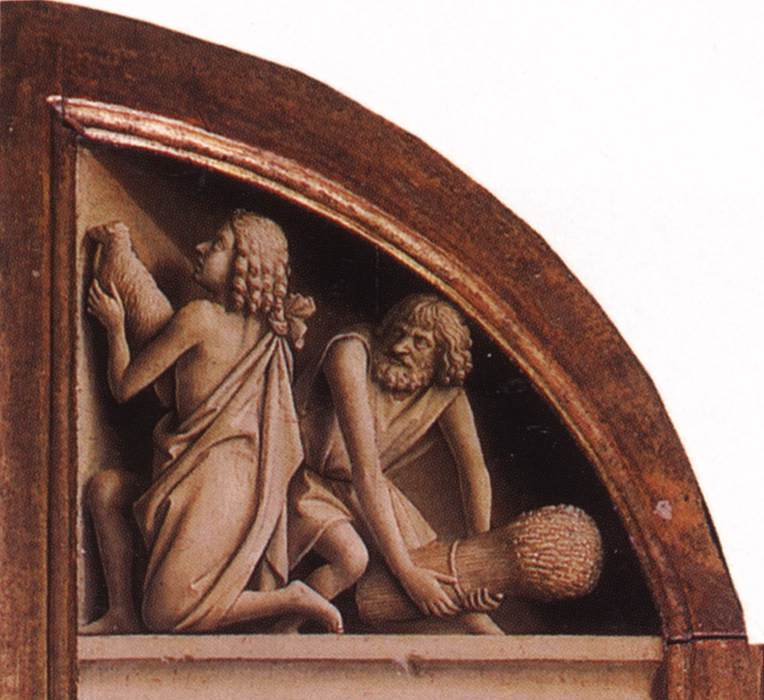 The Ghent Altarpiece: The Offering of Abel and Cain