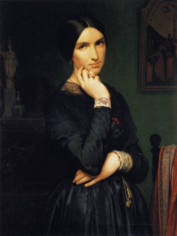 Portrait of Madame Flandrin