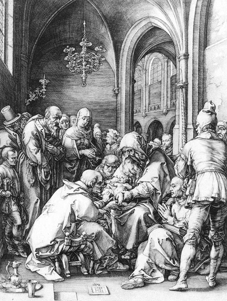 Circumcision in the Church of St Bavo at Haarlem