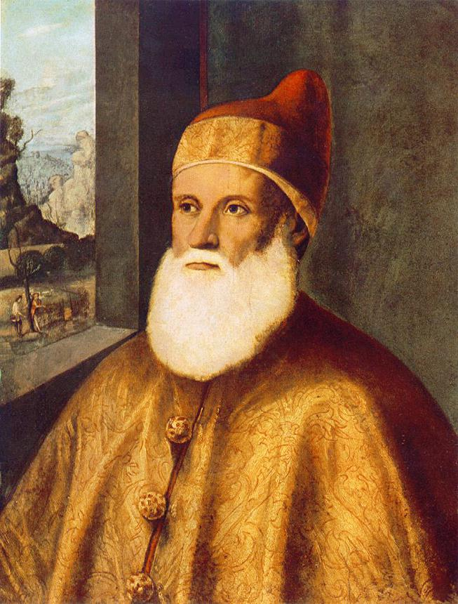 Portrait of Doge Agostino Barbarigo