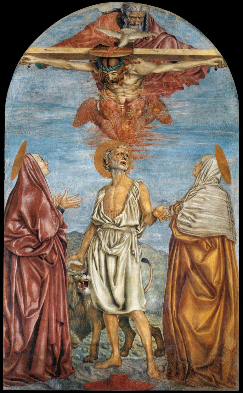 The Holy Trinity, St Jerome and Two Saints