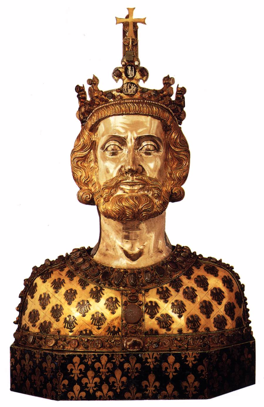 Bust reliquary of Charlemagne