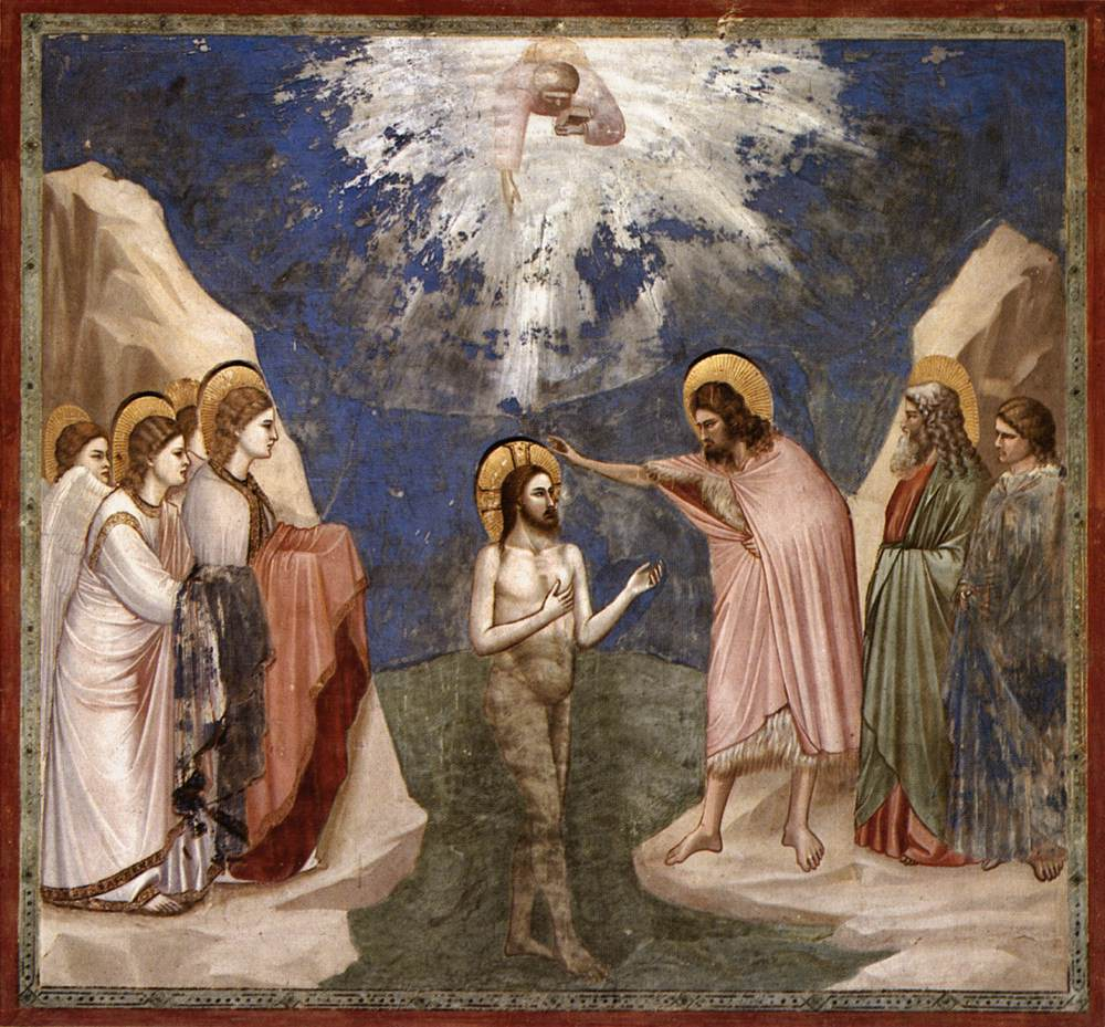 No. 23 Scenes from the Life of Christ: 7. Baptism of Christ