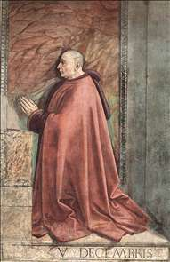 Portrait of the Donor Francesco Sassetti
