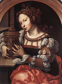 Lady Portrayed as Mary Magdalene